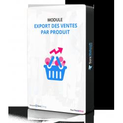 Module Export des ventes
