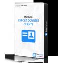 module d'export clients - Sora Caisse